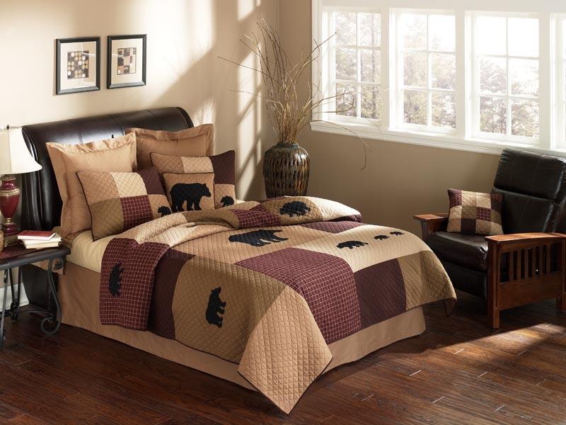 logan bear bedding